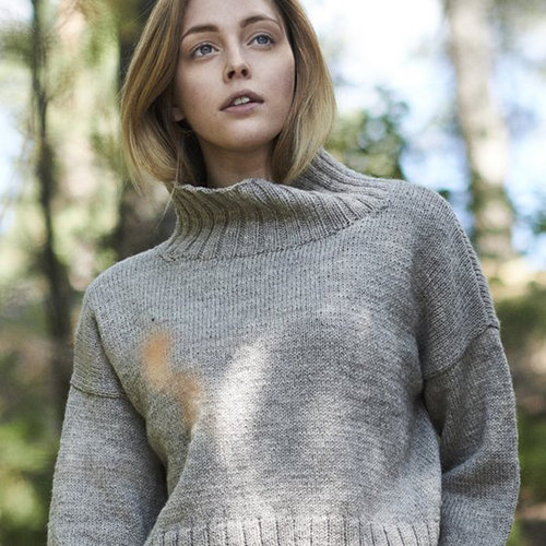 Novita 0418S Nordic Wool Womens Knitted Pullover (Free) -  ()