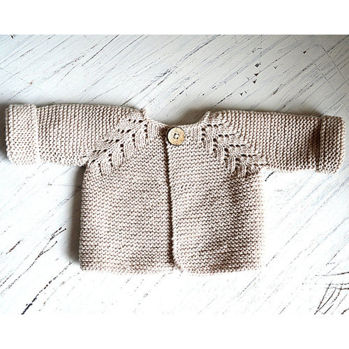 OGE Knitwear Designs P109 Norwegian Fir Top Down Cardigan PDF -  ()