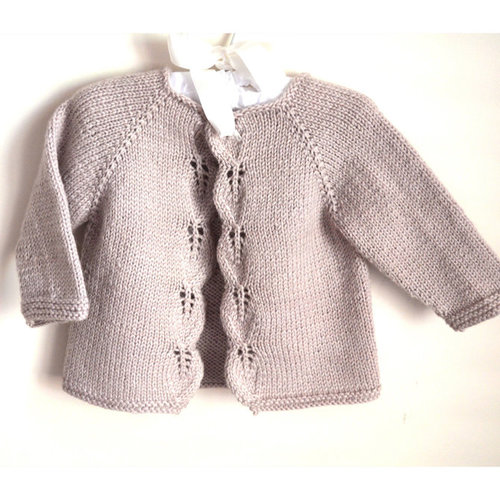 OGE Knitwear Designs P111 Aida Top Down Cardigan PDF -  ()