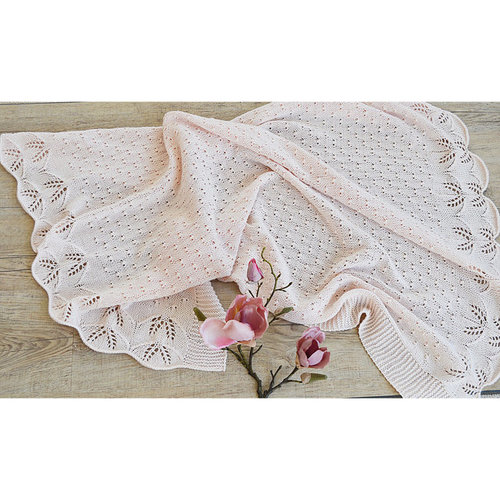 OGE Knitwear Designs P119 Butterfly Kisses Baby Blanket PDF -  ()