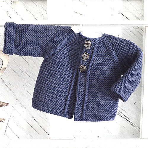 OGE Knitwear Designs P133 Balina Top Down Cardigan PDF -  ()