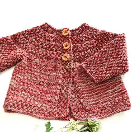 OGE Knitwear Designs P140 Raspberries N' Cream PDF -  ()