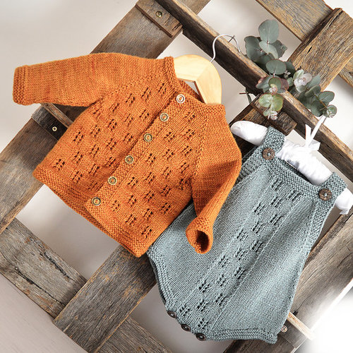 OGE Knitwear Designs P142 AND P144 Gumnut Set PDF -  ()
