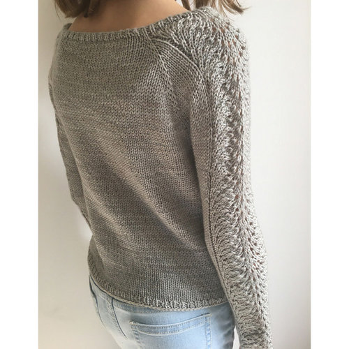 OGE Knitwear Designs P150 Chantilly Lace Sweater PDF -  ()