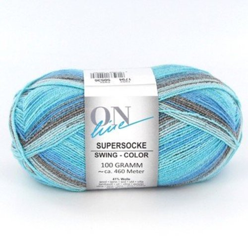On-Line Supersocke 100 Cotton Stretch Swing Color -  ()