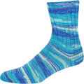 On-Line Supersocke 233 4-Ply Silk Color - Blues (2117)