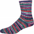 On-Line Supersocke 258 4-Ply Merino Extrafein Color - Purple, Pink, Green, Blue (2289)
