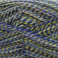 On-Line Supersocke 4-Ply Mouliné Color - Blue, Yellow, Grey (2521)