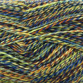 On-Line Supersocke 4-Ply Mouliné Color - Yellow, Green, Blue (2526)