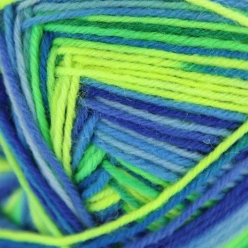 On-Line Supersocke 4-Ply Neon Color -  ()