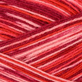 On-Line Supersocke 4-Ply Paint - Color - Pinks, Red (2127)