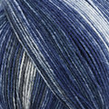 On-Line Supersocke 4-Ply Silk Color - Blues, Grey (2493)