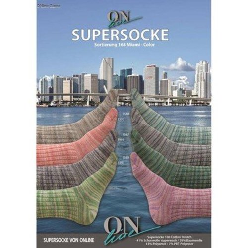 On-Line Supersocke Miami Color -  ()