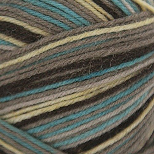 On-Line Supersocke Montana Color - Aqua, Gray, Natural (1938)