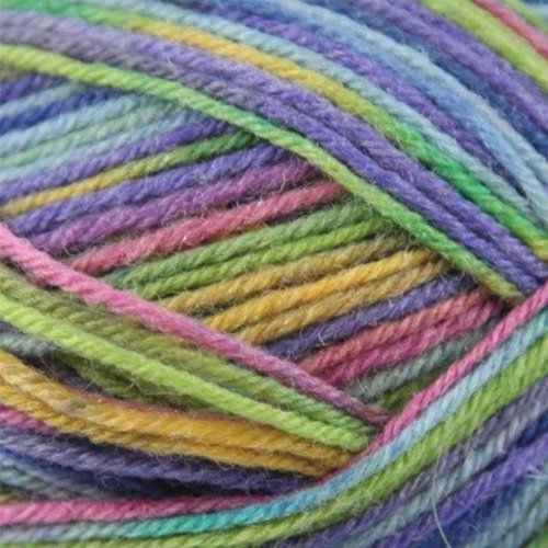 On-Line Supersocke100 4-Ply Rainbow Color -  ()