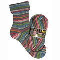 Opal My Sock Design - Red-Blue-Green-Charcoal (9377)