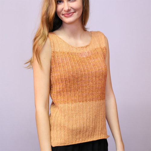 Plymouth Yarn 121 Equinox/Equinox Hand Dye Two Tone Tunic -  ()