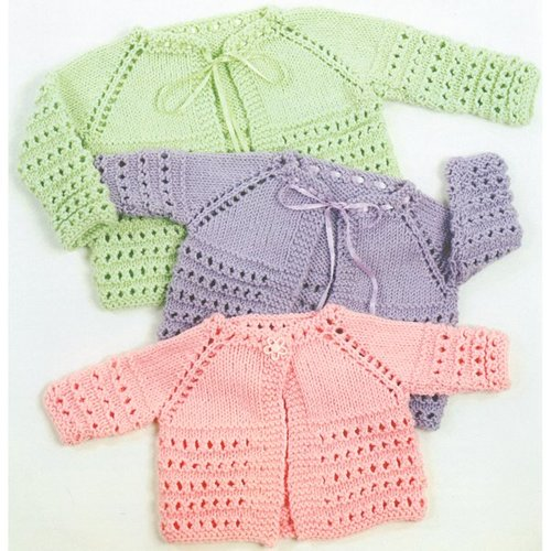 Plymouth Yarn 1354 Top Down Baby Jacket -  ()