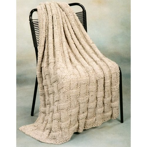 Plymouth Yarn 1767 Basket Afghan -  ()