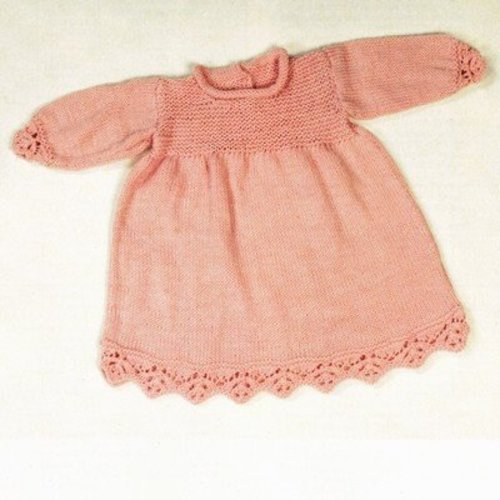 Plymouth Yarn 2396 Baby Dress -  ()