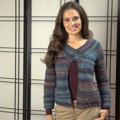 Plymouth Yarn 2473 Long Sleeve Cardigan -  ()