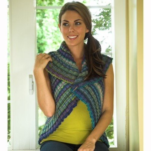 Plymouth Yarn 2516 Entrelac Shrug -  ()