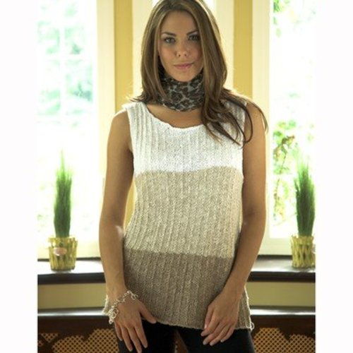 Plymouth Yarn 2526 3 Tone Tunic -  ()