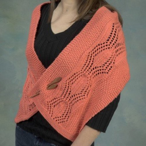 Plymouth Yarn 2538 Pineapple Motif Scarf -  ()
