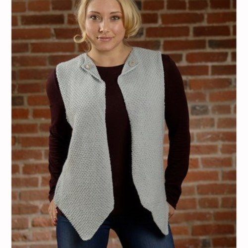 Plymouth Yarn 2596 Woman's Vest -  ()