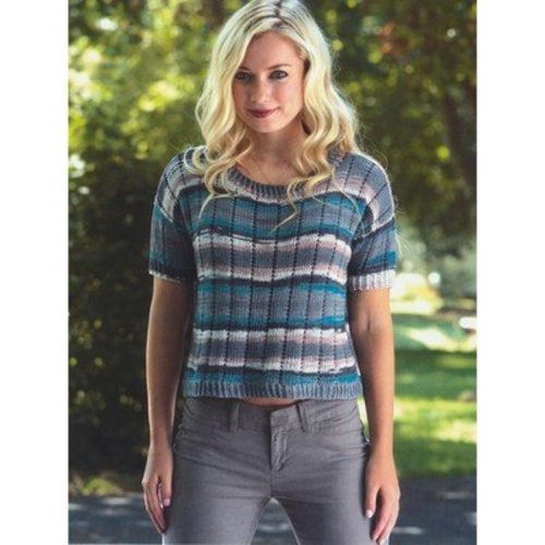 Plymouth Yarn 2676 Boxy Pullover -  ()