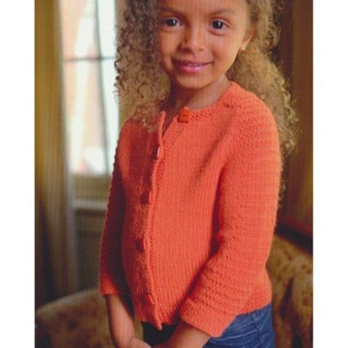 Plymouth Yarn 2737 Baby and Toddler Saddle Shoulder Cardigan -  ()