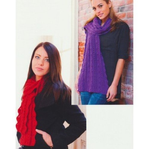 Plymouth Yarn 2746 Bell Lace Stole & Scarf -  ()