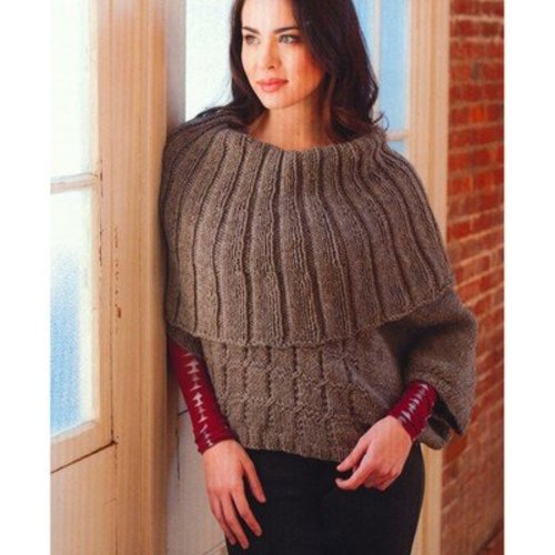 Plymouth Yarn 2765 Woman's Capelet Poncho -  ()