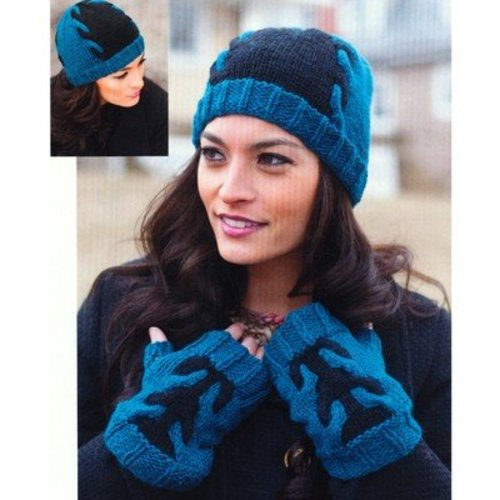 Plymouth Yarn 2769 Adult Fingerless Mitts & Hat -  ()