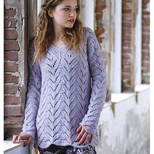 Plymouth Yarn 2781 Lace Pullover -  ()