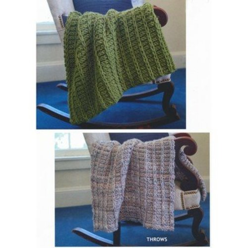 Plymouth Yarn 2803 Throws -  ()