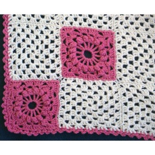 Plymouth Yarn 2828 Crochet Granny Square Blanket -  ()