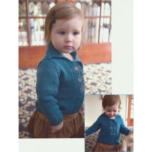 Plymouth Yarn 2829 Double Breasted Baby Cardigan -  ()