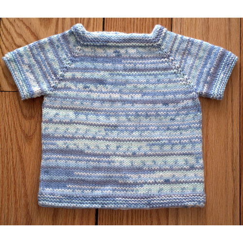 Plymouth Yarn 2833 Top Down Baby Pullover PDF - Printed (2833P)