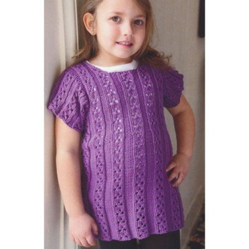 Plymouth Yarn 2854 Girl's Dress -  ()