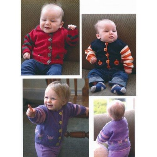 Plymouth Yarn 2861 Seasonal Baby Cardigans -  ()