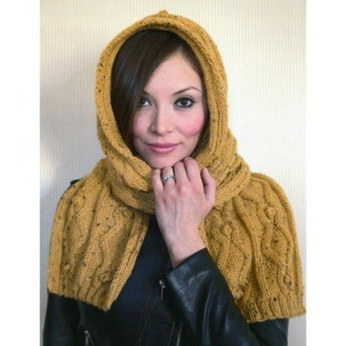 Plymouth Yarn 2867 Hooded Scarf -  ()