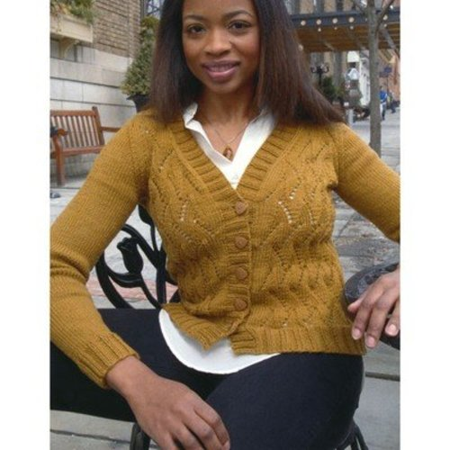 Plymouth Yarn 2896 Women's Cardigan -  ()