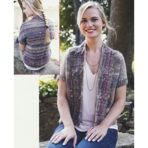 Plymouth Yarn 2914 Women's Cabled Shawl Collar Cardigan -  ()