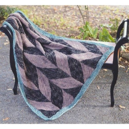 Plymouth Yarn 2929 Parallelogram Throw -  ()
