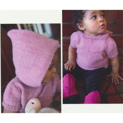 Plymouth Yarn 2942 Baby's Hooded Tunic -  ()
