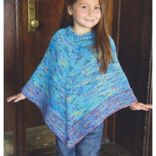 Plymouth Yarn 2954 Jelli Beenz Kid's Poncho PDF - Download (2954)