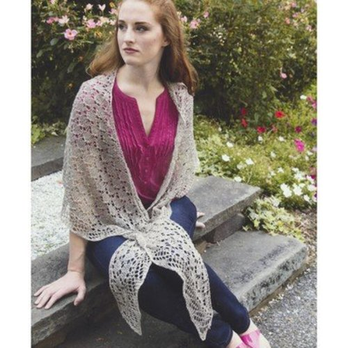 Plymouth Yarn 2968 Butterfly Stitch Shawl -  ()