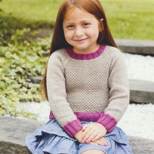 Plymouth Yarn 2985 Girl's Pullover -  ()