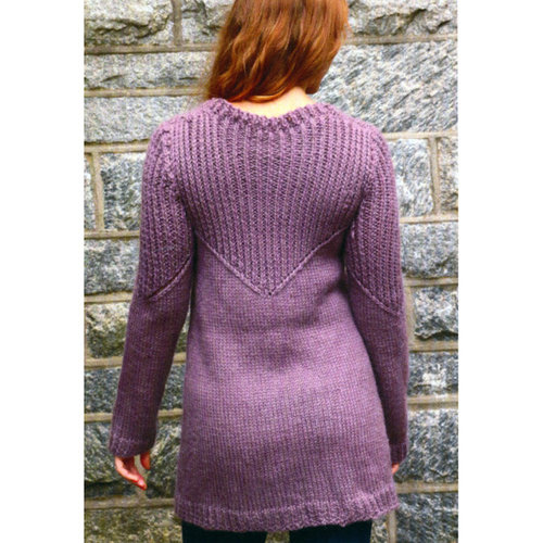 Plymouth Yarn 3001 Women's Cabled Rib Tunic -  ()